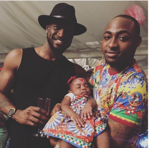 See photos from Davido's daughter Imade's 1 year birthday party (here)