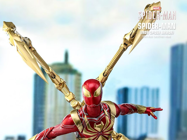 Spider-Man (Iron Spider Armor) 12-inch (30cm) Collectible Figure