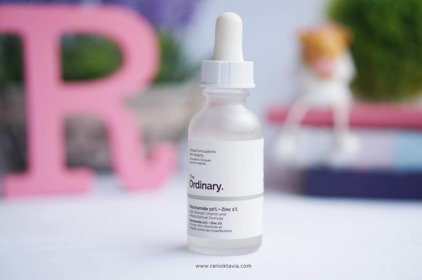 Skincare Review The Ordinary Untuk Kulit Kombinasi Dan Jerawat Beauty Blog By Rani Oktavia