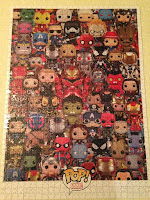 Puzzle Marvel Funko Pop! Montado