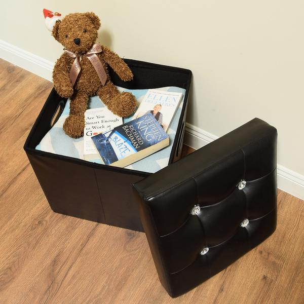 Shop Folding Storage Ottoman at Nile Corp