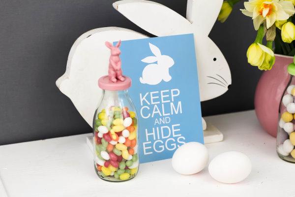 Freebie: Keep calm and hide eggs