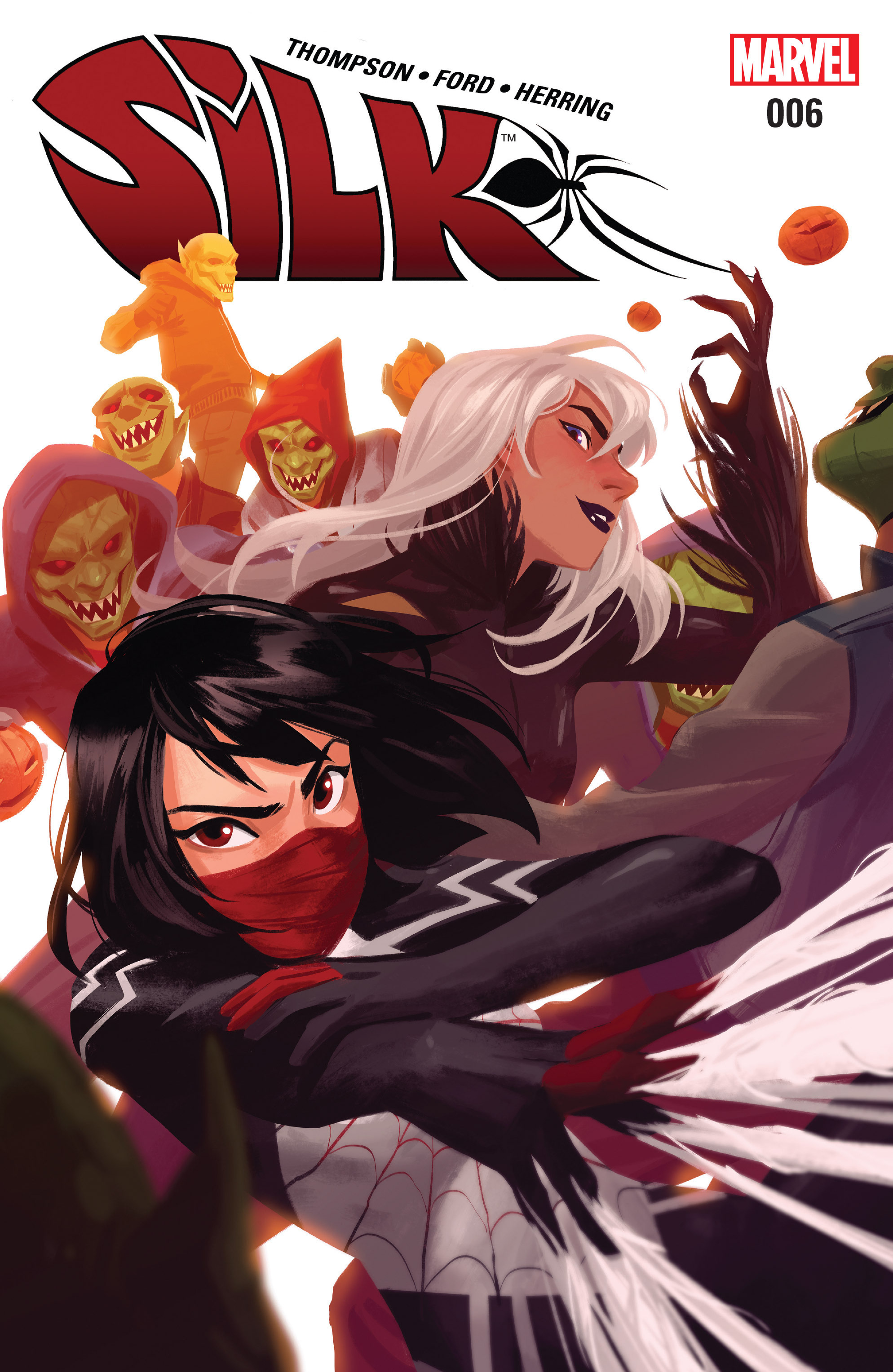 Read online Silk (2016) comic -  Issue #6 - 1