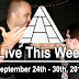 Live This Week: September 24th - 30th, 2017