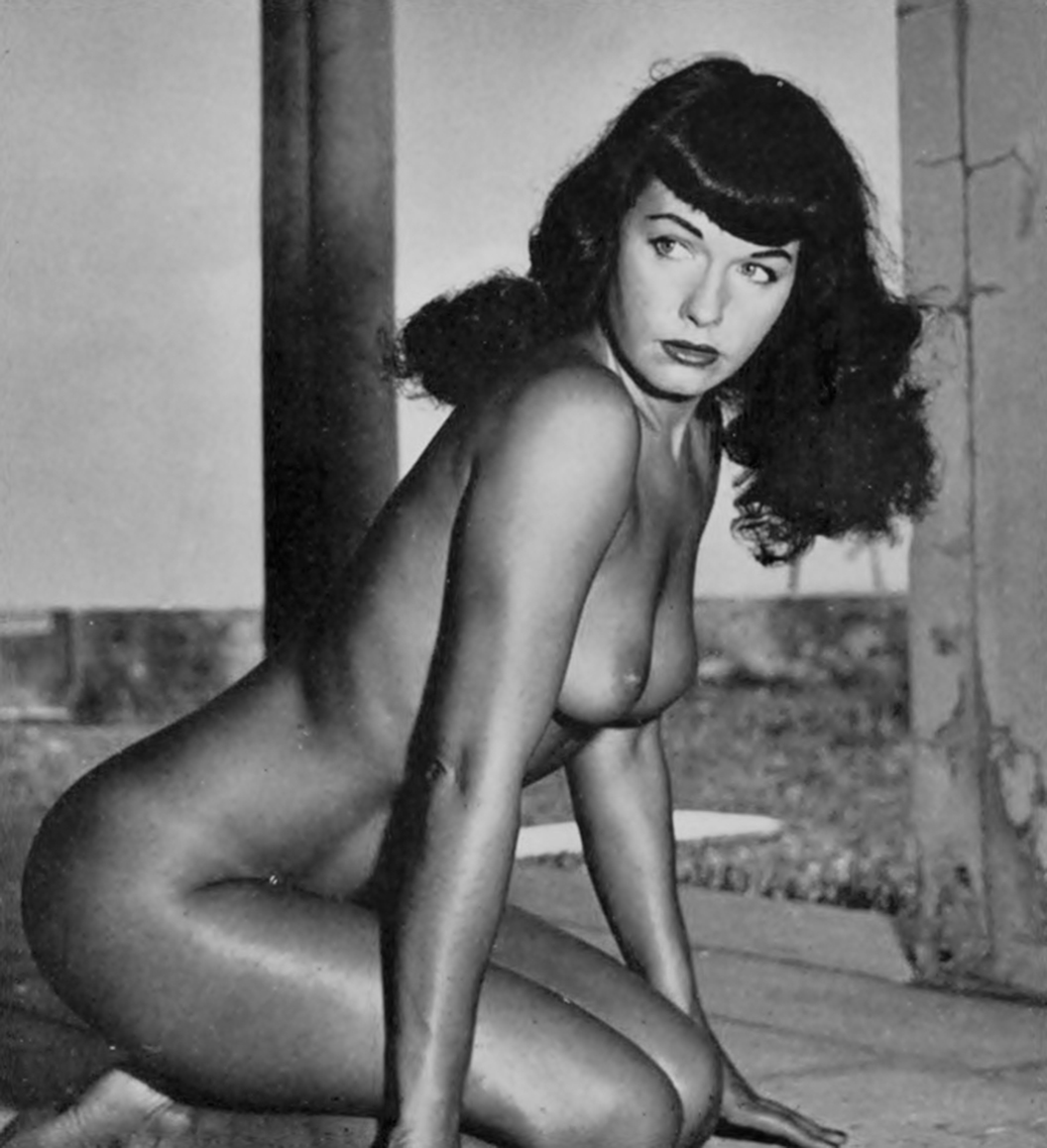 Bettie page naked
