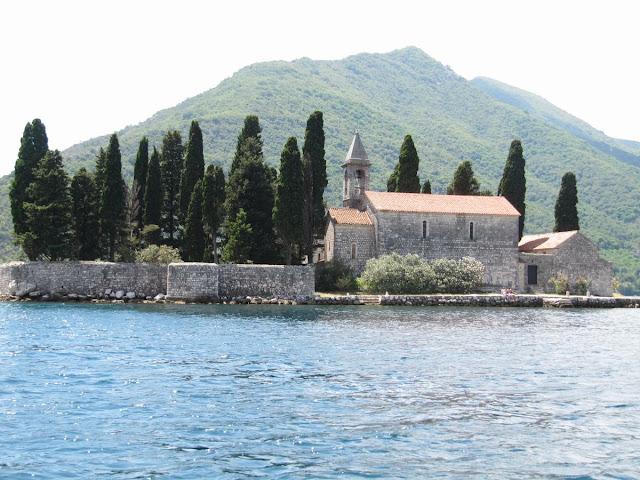 Sveti dorde, isla san jorge, cementerio perast