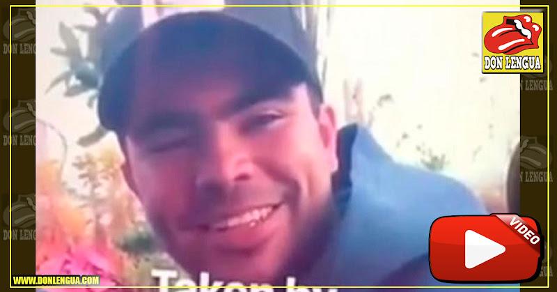 Hijo de Padrino López grabado con una extraña píldora en una fiesta en España
