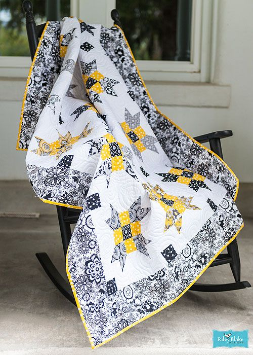 Jewel in the Night Quilt Free Pattern