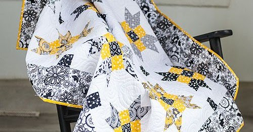 Quilting Land: Jewel in the Night Quilt