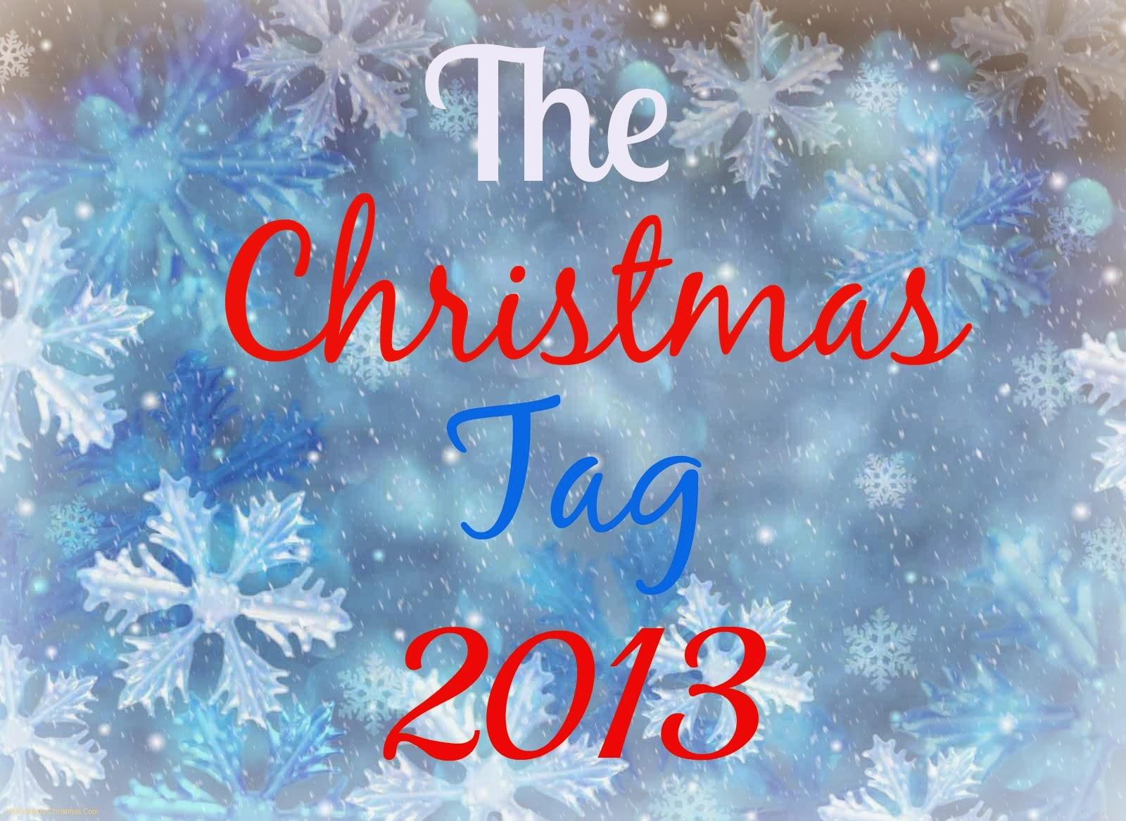 Christmas Tag 2013