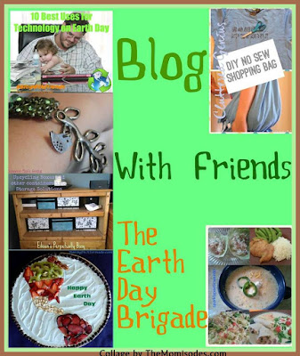 Blog With Friends Earth Day | BakingInATornado.com