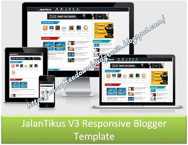 JalanTikus V3 Responsive Blogger Template