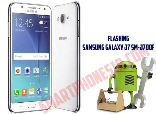 Cara Flashing Samsung Galaxy J7 SM-J700F via Odin Firmware Marshmallow