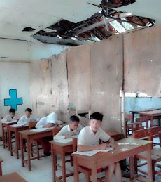 Belajar Siswa SDN 2 Tambak Cimarga Lebak Banten Terganggu
