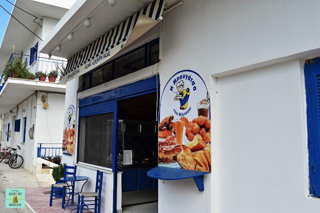 Comer en Serifos, Grecia