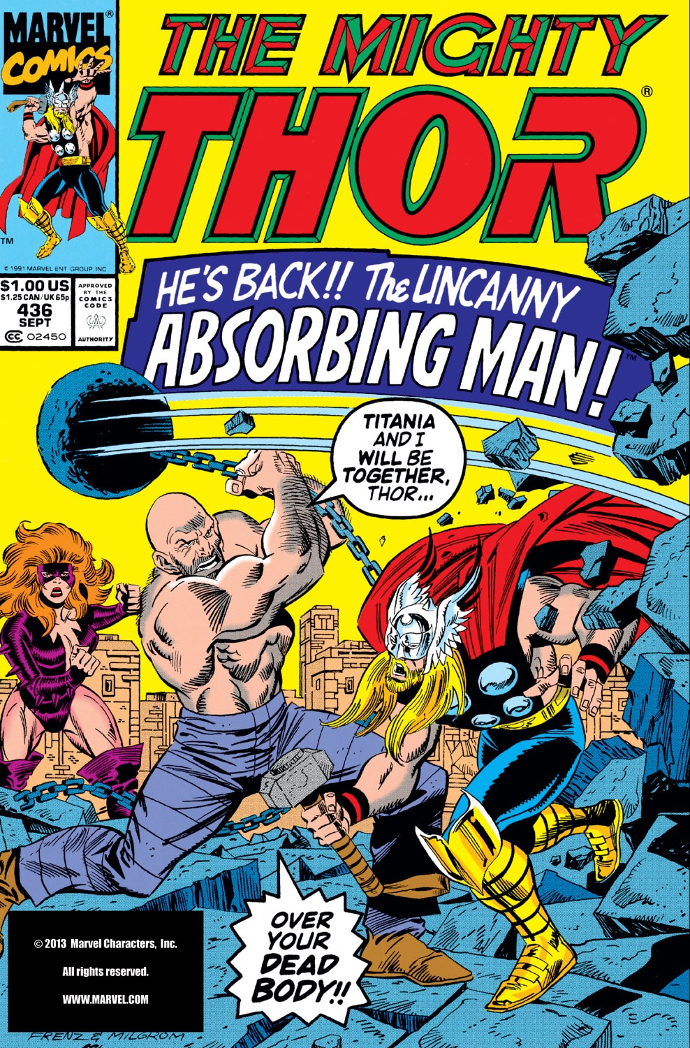 Thor (1966) 436 Page 1