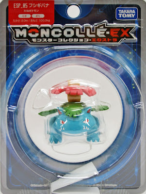 Venusaur figure Takara Tomy Monster Collection MONCOLLE EX ESP series