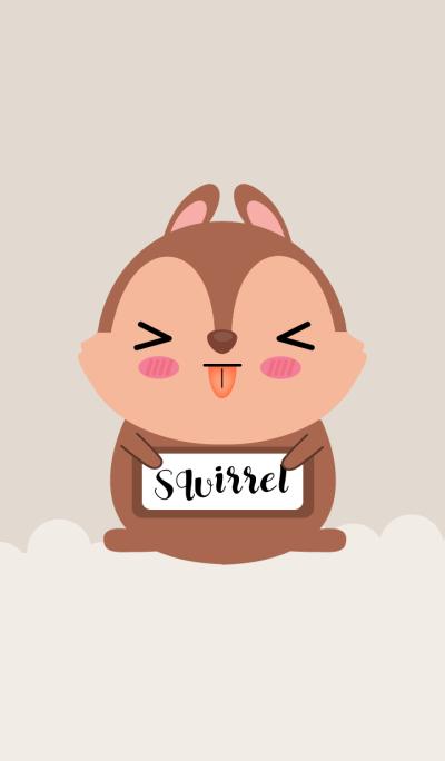 Love Cute Squirrel Theme
