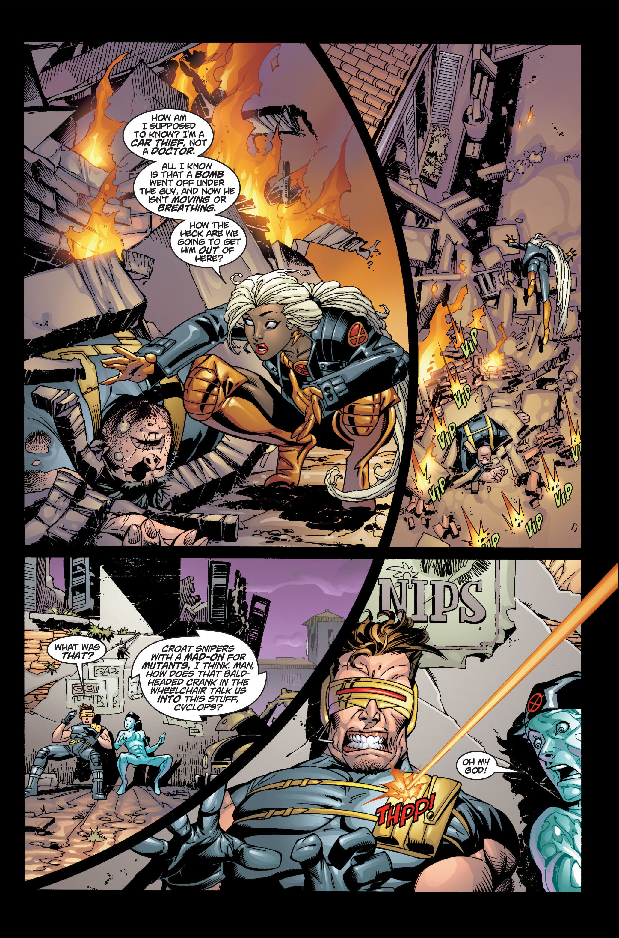 Read online Ultimate X-Men comic -  Issue #4 - 3