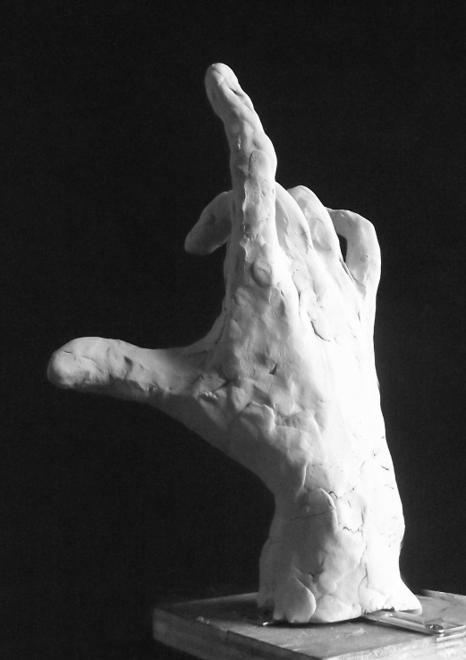 Edith Lafay  sculpture main droite 2 b