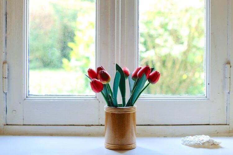 ventana interior hogar