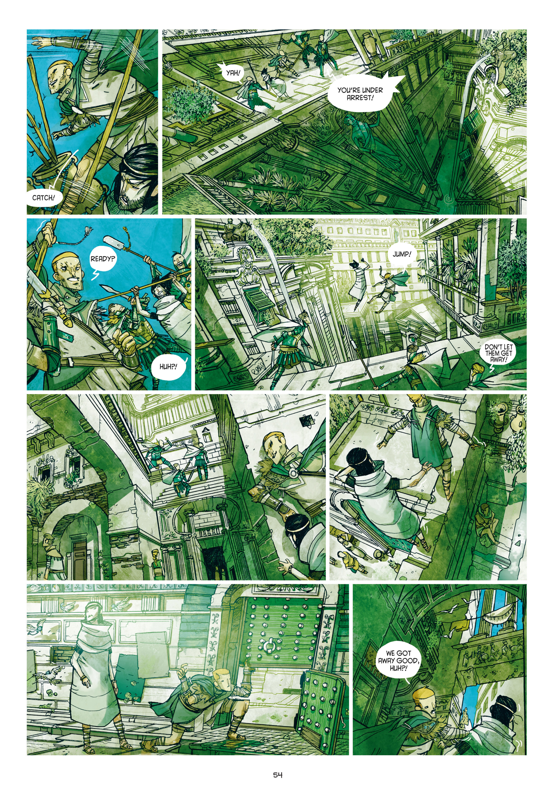 Read online Adrastée comic -  Issue #1 - 55