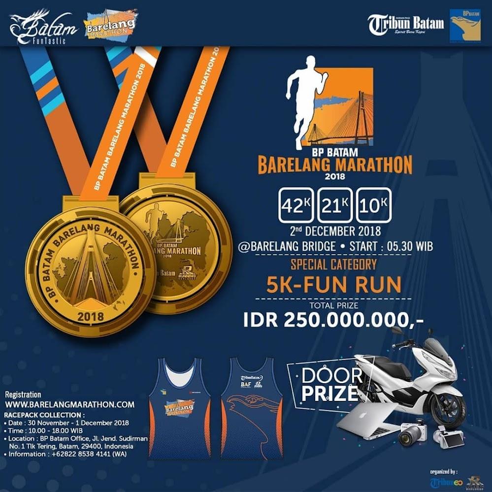 BP Batam - Barelang Marathon • 2018