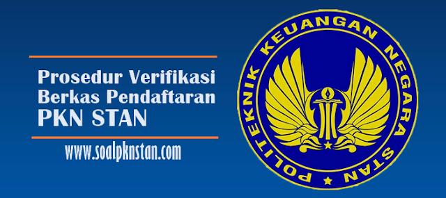 Cara verifikasi berkas pendaftaran pkn stan