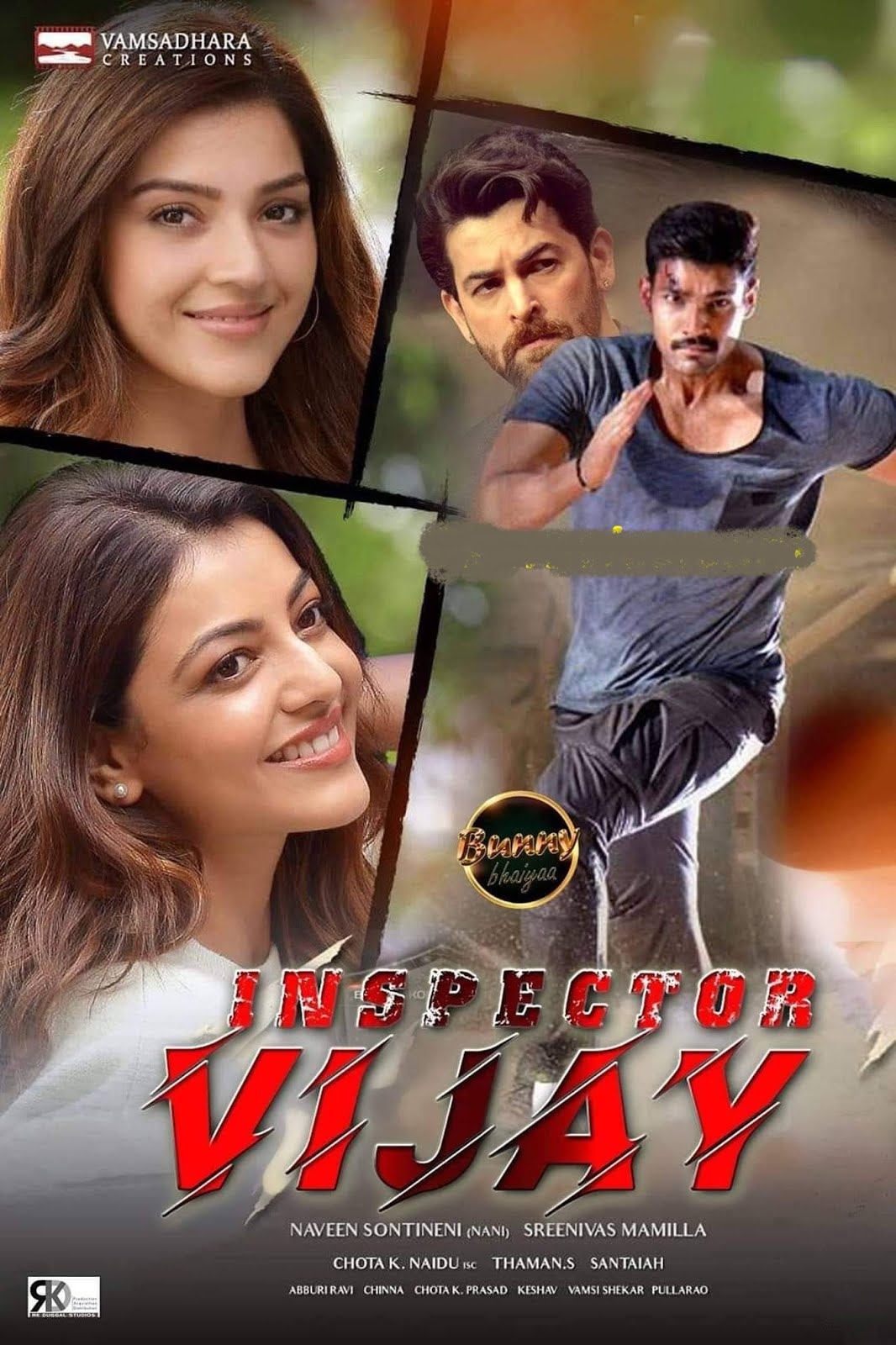 Inspector Vijay (Kavacham) 2019 Hindi Dubbed 720p HDRip x264 800MB