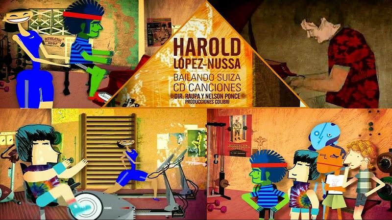 Harold López-Nussa - ¨Bailando Suiza¨ - Dibujo Animado - Videoclip - Dirección: Raupa y Nelson Ponce. Portal del Vídeo Clip Cubano