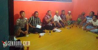 Anggota DPRD Kalimatan Barat dari Partai Amanah Nasional (PAN) Saparudin Sp, melakukan reses di Sekadau