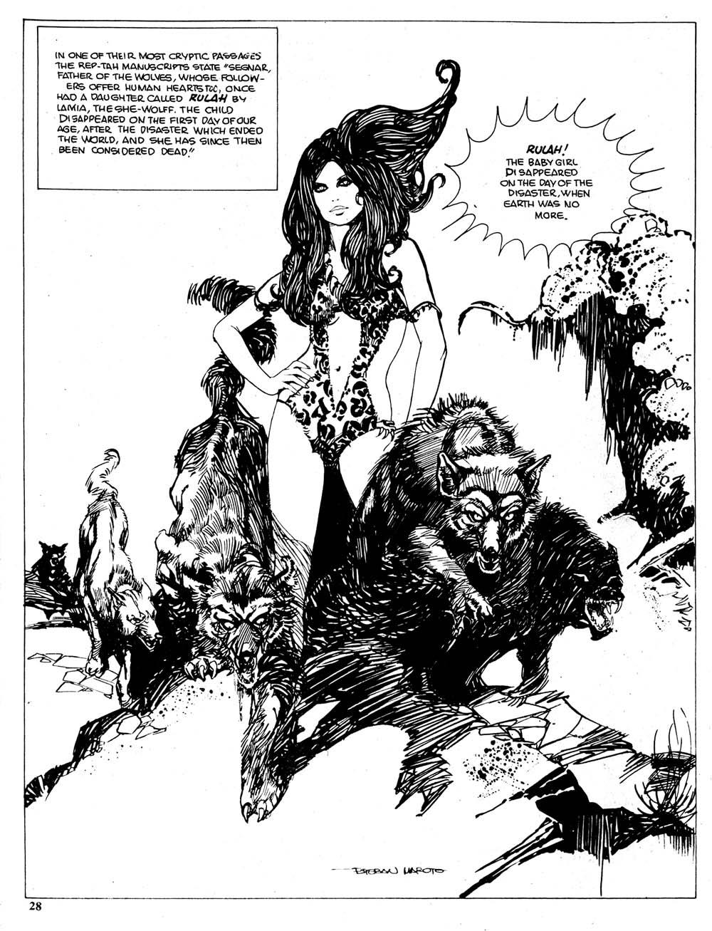 Cap'n's Comics: Estaban Maroto