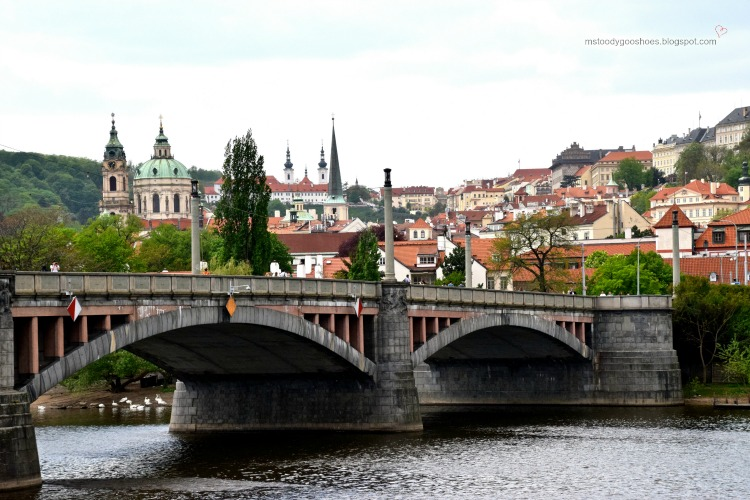 Manes Bridge, Prague, Czech Republic | Ms. Toody Goo Shoes