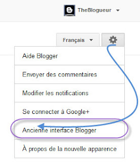 Ancienne Version Blogger