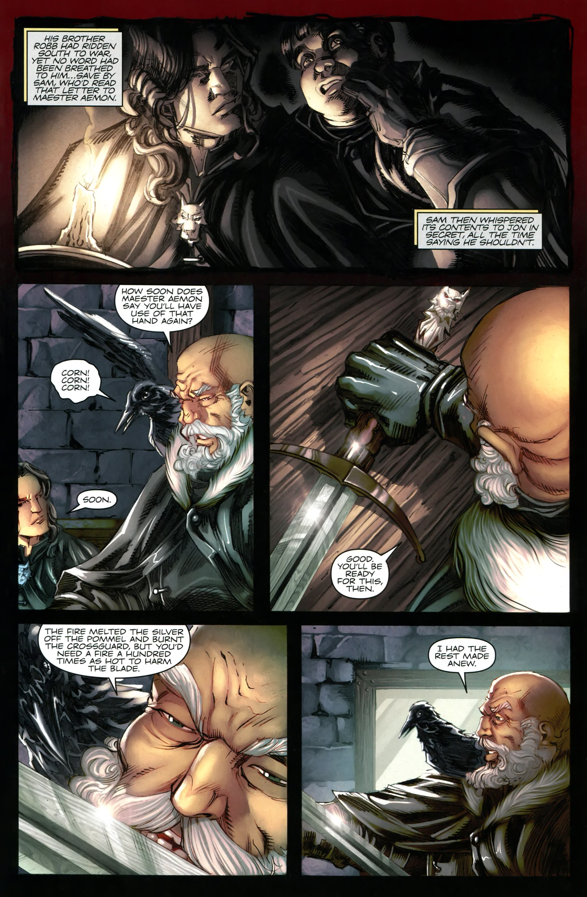 Read online A Game Of Thrones comic -  Issue #20 - 21