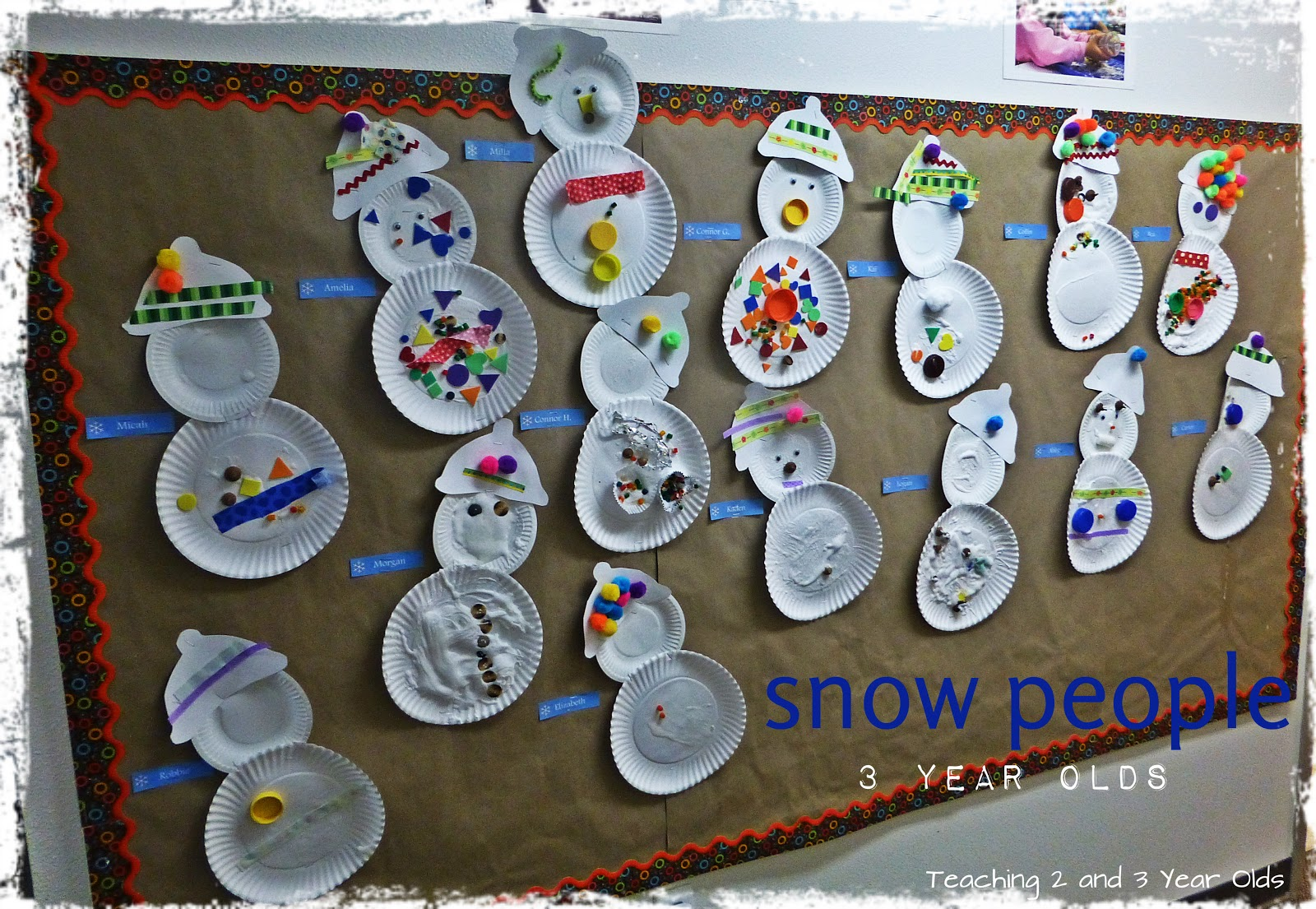 Teaching 2 And 3 Year Olds Winter Theme