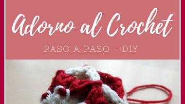 Adorno Navideño al Crochet