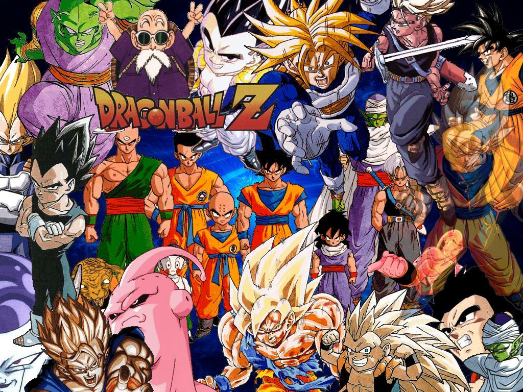 Dragon Ball Z Logo Wallpaper