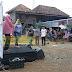 PT Gudang Garam Meriahkan Pasar Bedug Desa Lubuk Lancang