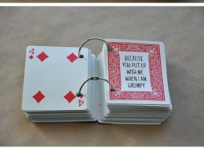 K'Mich Weddings - wedding planning - anniversary gift ideas - personalized playing cards - fininstructor.com
