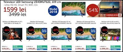 catalog black friday 2018 evomag televizoare led ieftine si bune