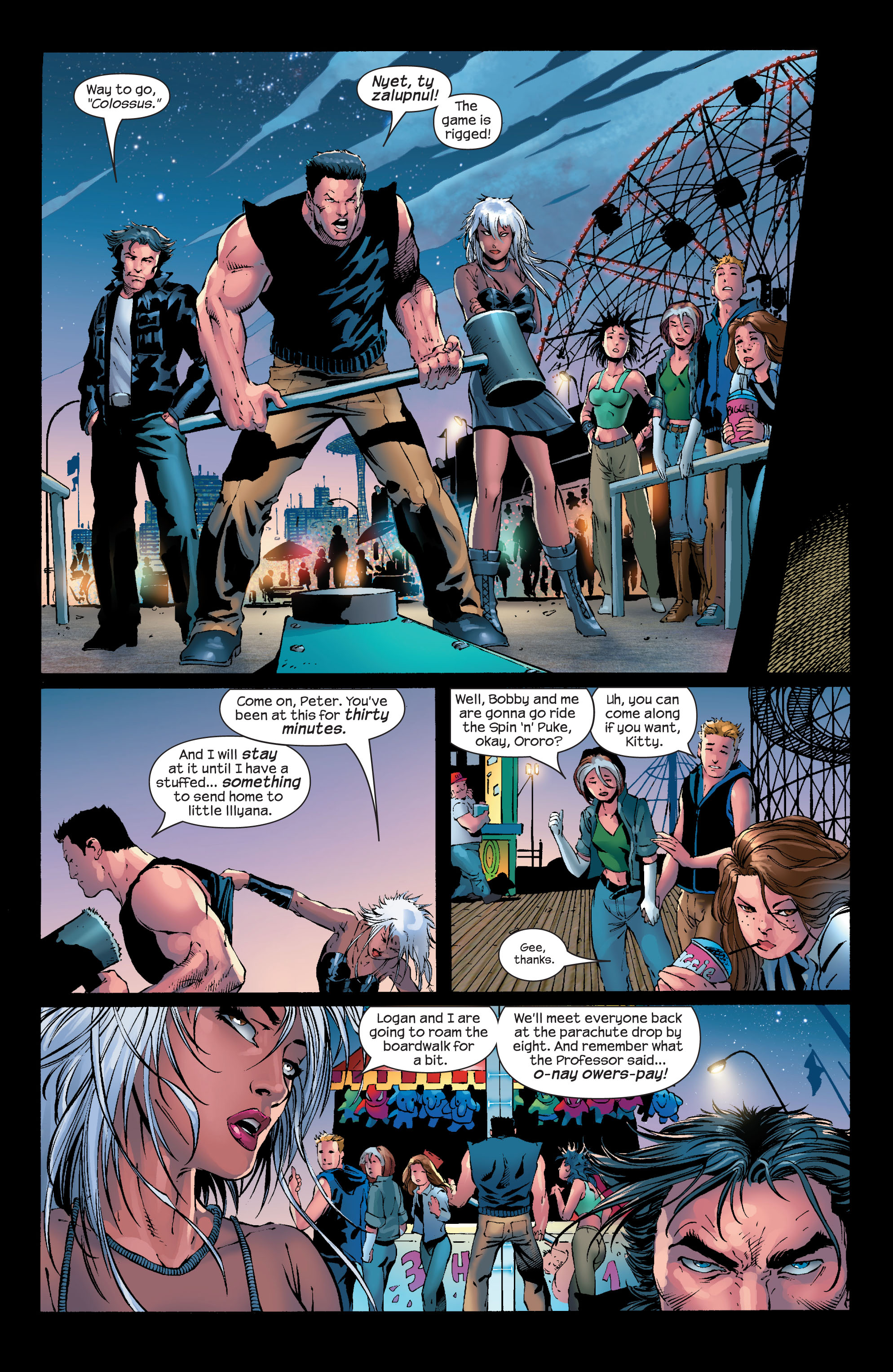 Read online Ultimate X-Men comic -  Issue #50 - 7