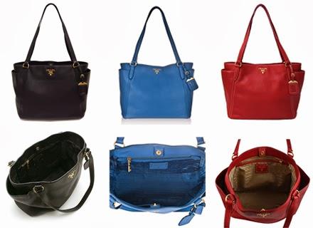7544abd3459c Luxury Branded Bags Up to 75% Off: Prada BR4970 - Vitello Daino ...