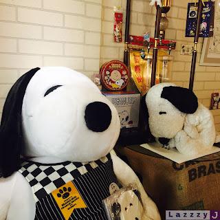 超多Snoopy的東禾咖啡