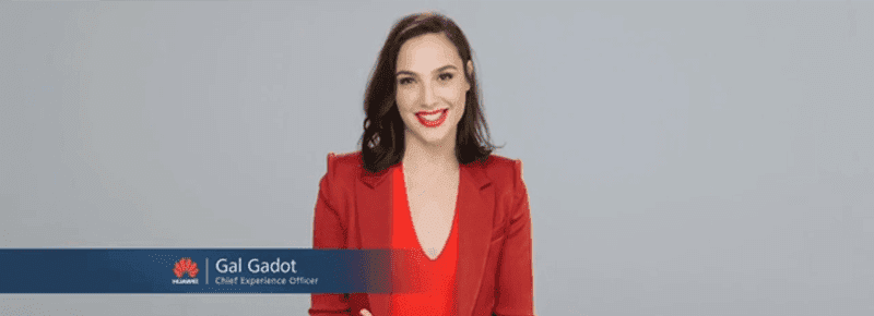 Wonder Woman is the newest Chief Experience Officer of Huawei