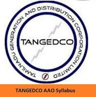 TANGEDCO AAO Syllabus