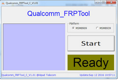 Download Qualcomm FRP Unlock/Remove/Bypass Tool 2018 For Windows