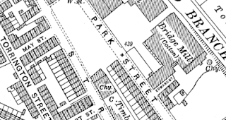 Bridge Mill, OS map, 1929.