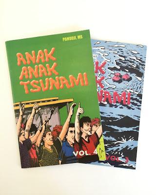 """Anak-Anak Tsunami"" Vol. 3 dan 4"