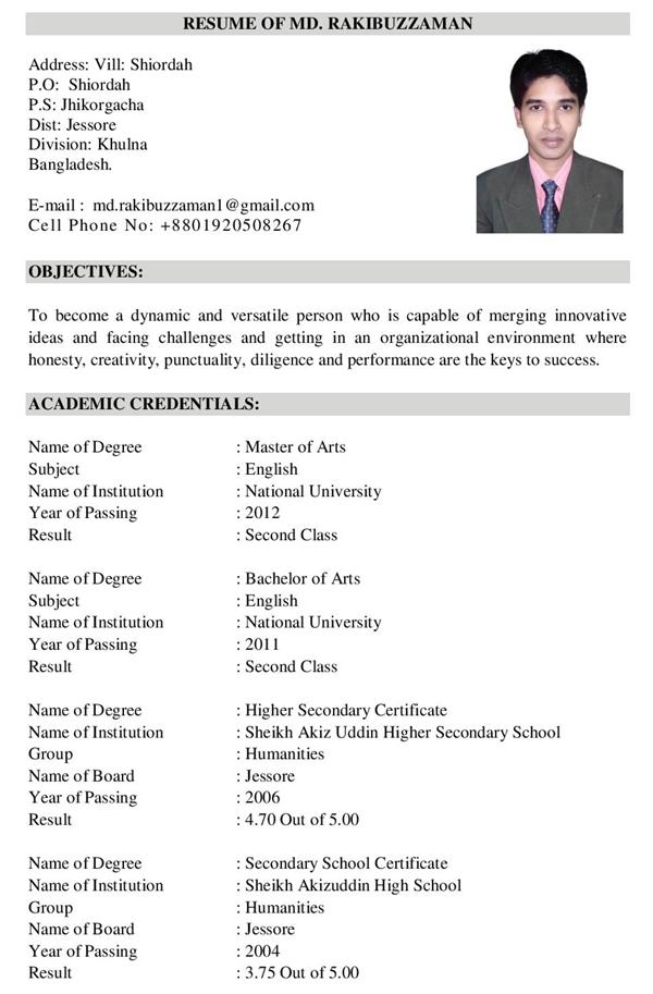 CV/Resume Writing ~ E-Grammarian